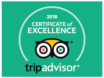 Awarded「Certificate of EXCELLENCE 2018」